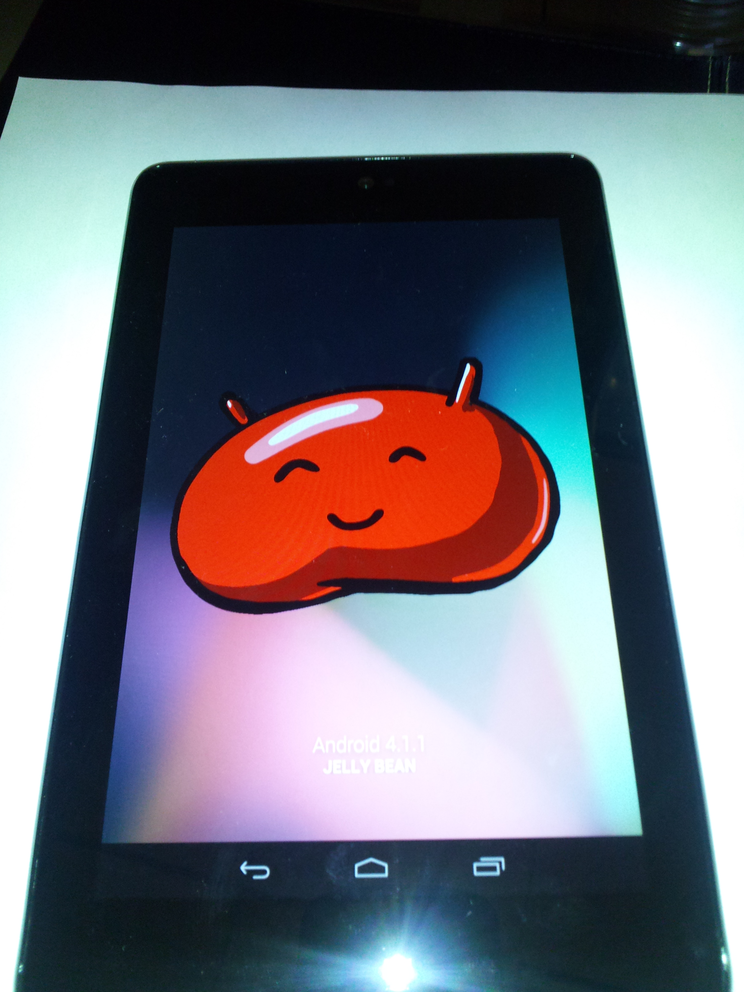 Android Jelly Bean 4.1.1 Easter egg